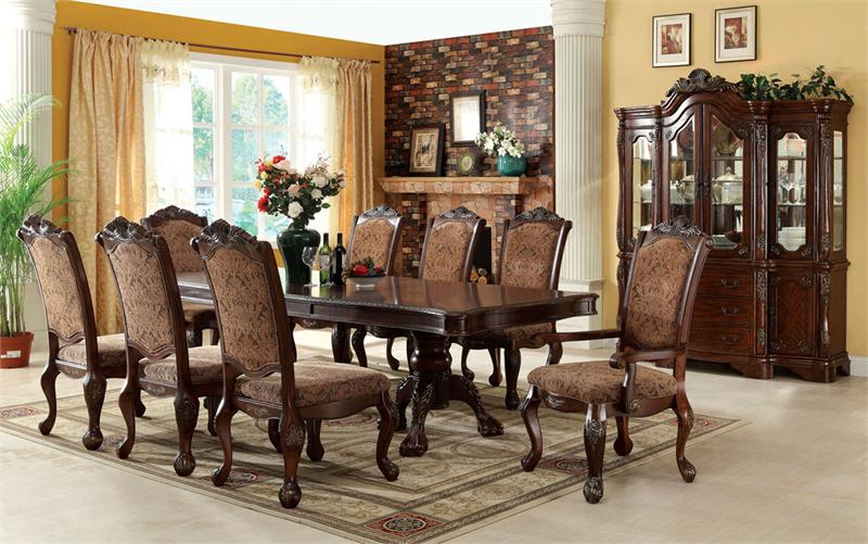 Great Elegant Wood Dining Table Dining Room Formal Dining Room Sets Arranging Guide Round Table In