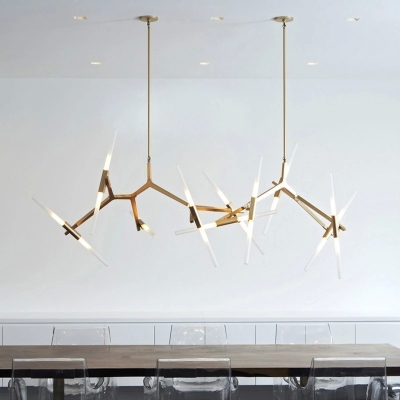 Great Italian Designer Lighting Modern Hill Agnes Lighting Minimalist Art Decoration Branch Agnes