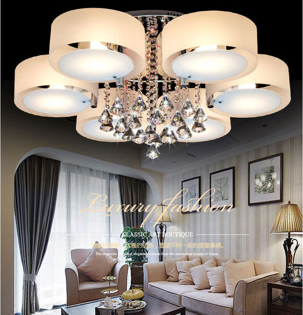 Great Large Ceiling Chandeliers Modern Simple Large Crystal Ceiling Chandelier Ac220v E14 Bulb Ipl