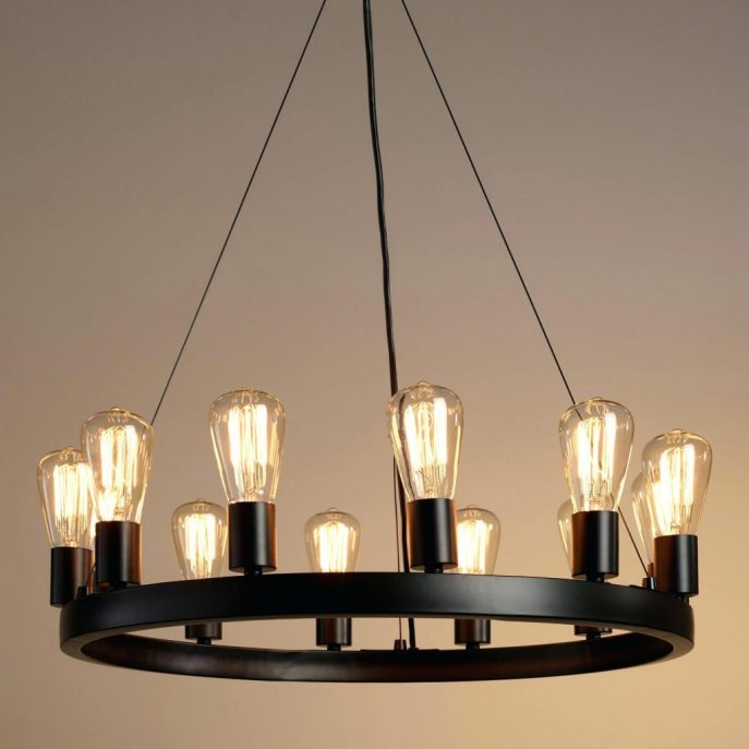 Great Large Round Chandelier Chandeliers Design Awesome Locker Chandelier Industrial Large