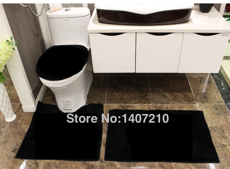 This Fits Your Make Sure By Entering Model Number Luxury 3 Pieces Bathroom Rugs Set 1 Small Bath Rug 17 X24 U Shape Contoured
