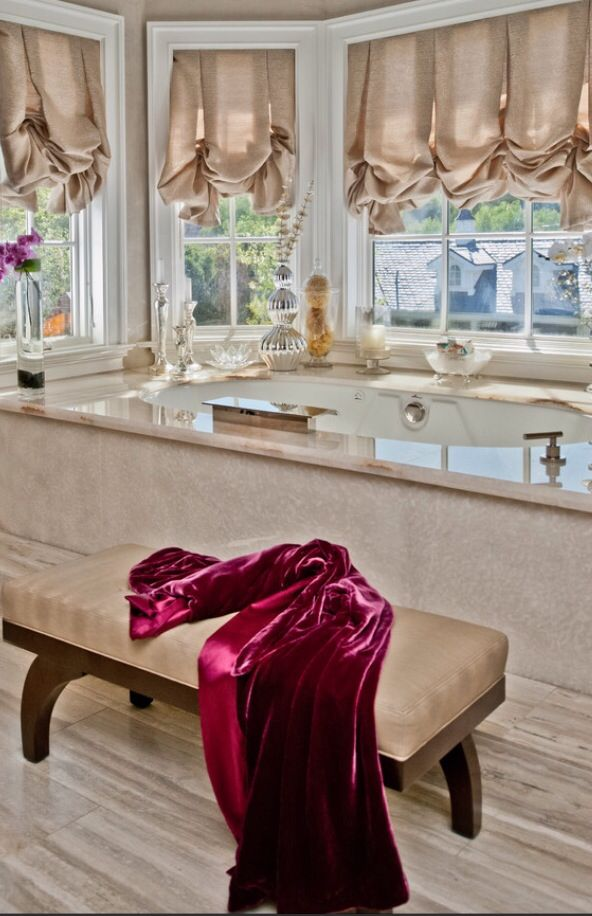 Great Luxury Bathroom Curtains 580 Best Bathroom Luxe Images On Pinterest Bath Black And