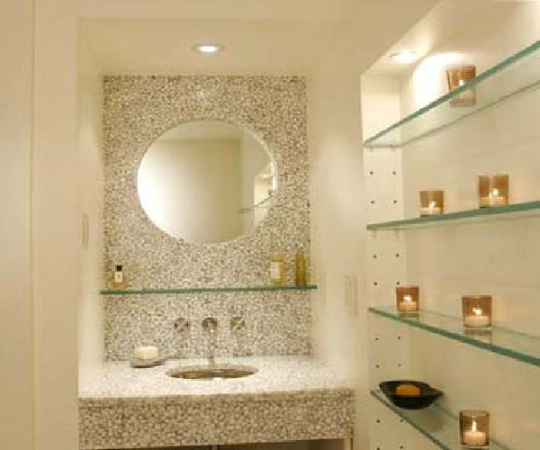 Great Luxury Bathroom Storage Small Luxury Bathroom Designs Stunning Wall Storage From Glass