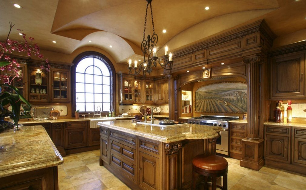 Great Luxury Kitchen Countertops Kitchen Interesting Modern Luxury Kitchen With Granite