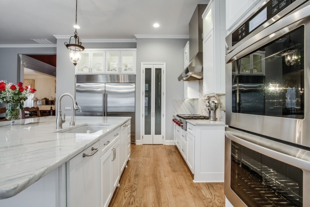 Great Luxury Kitchen Countertops Luxury Kitchen Layout With Sweet White Kitchen Countertop And
