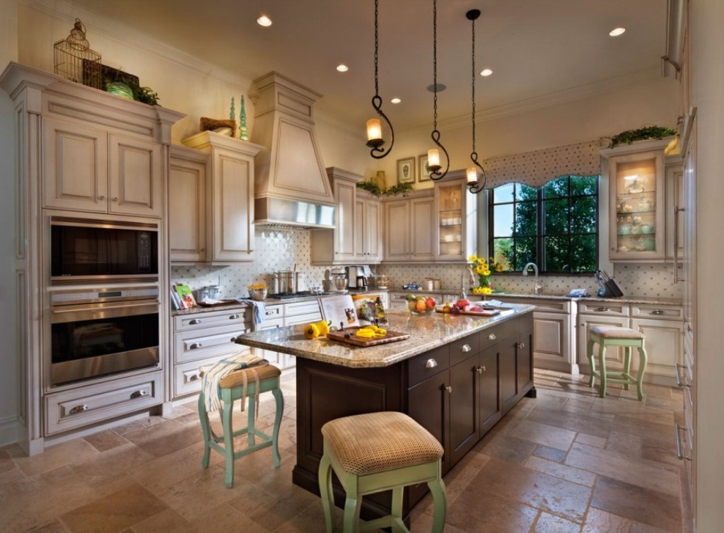 Great Luxury Kitchen Tiles Sage Green Stool With Ceramic Floor Tiles For Traditional Tuscany