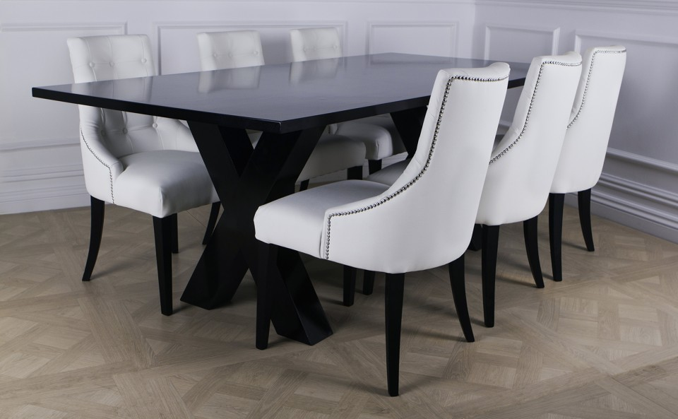 Great Luxury Leather Dining Chairs 77 Best Dining Images On Pinterest Chairs Tables For White Leather