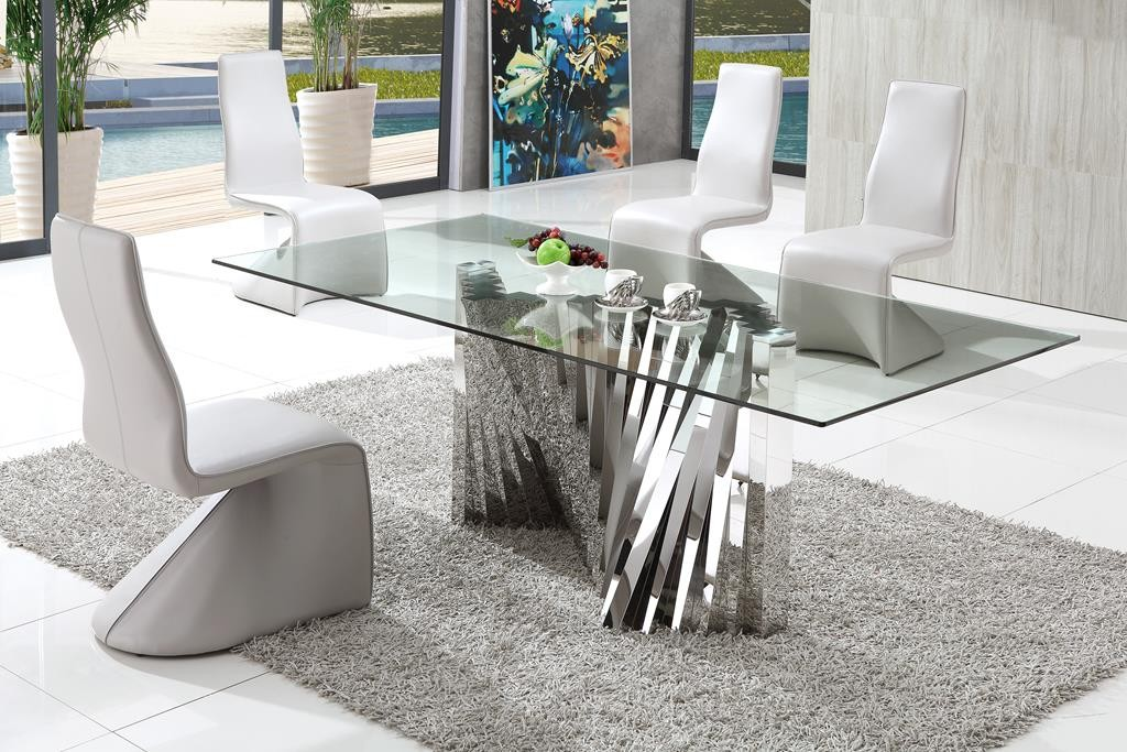 Brilliant Modern Dining Room Tables Italian Italy Modern Italian