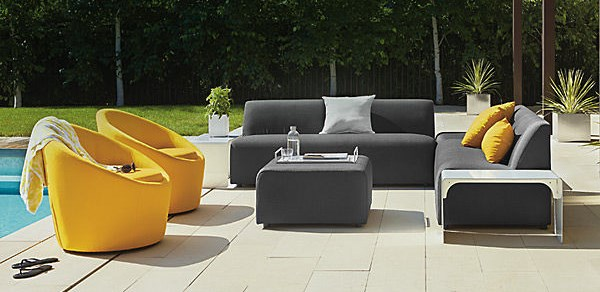 Great Modern Exterior Furniture How Modern Outdoor Furniture Is Ideal One For Home Decoration