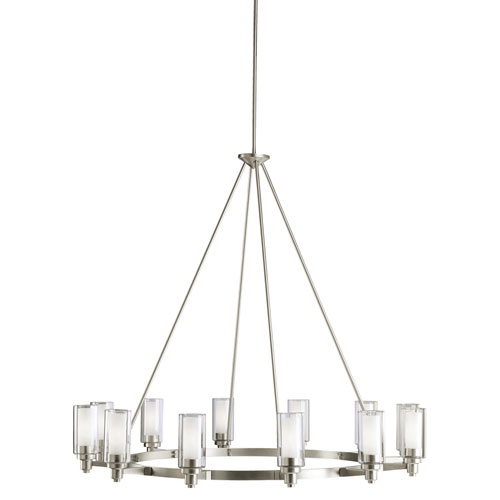 Great Nickel Chandeliers Lighting Fixtures Great Brushed Nickel Dining Room Light Fixtures Duggspace Within