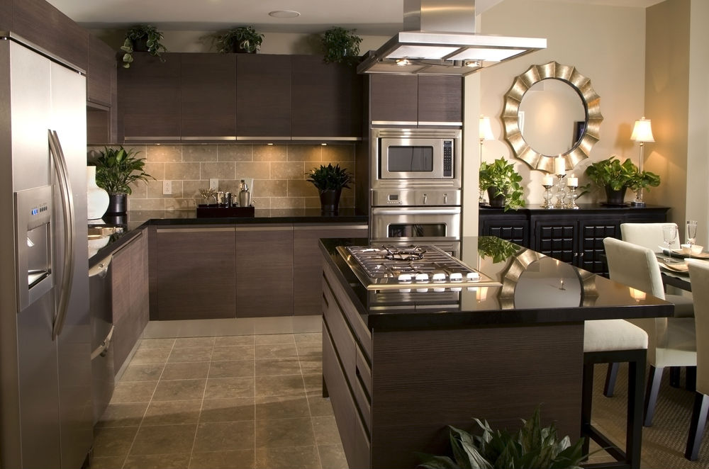 Great Top Kitchen Designs Kitchen Apartment Top Kitchen Designs With Modern Dark Brown
