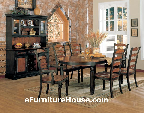 Impressive Black And Brown Dining Room Sets Black And Brown Dining Room Sets Black Wood Dining Room Table