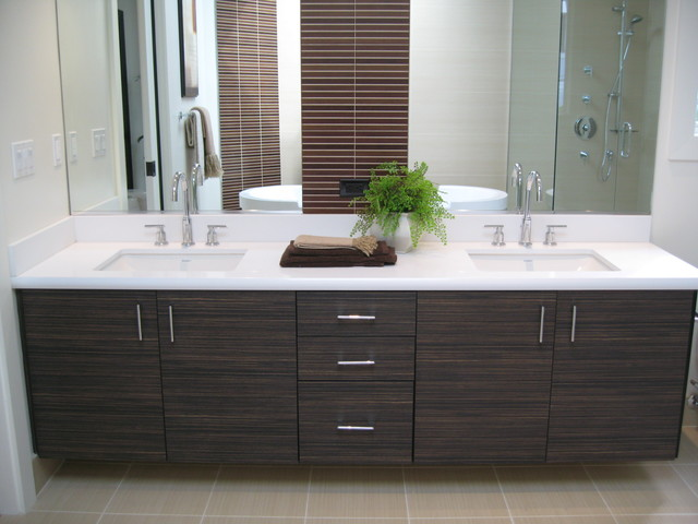 Impressive Contemporary Bathroom Cabinets Foloating Vanities Textured Laminate Contemporary Bathroom