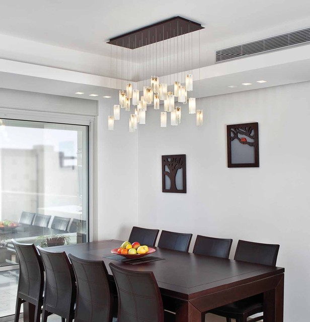 Impressive Contemporary Dining Chandeliers Drops Chandelier Contemporary Dining Room Los Angeles