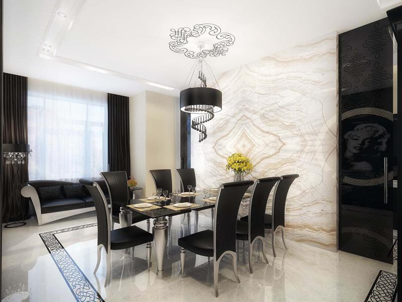 Impressive Contemporary Dining Room Design 23 Sleek Contemporary Dining Beauteous Design Dining Room Home