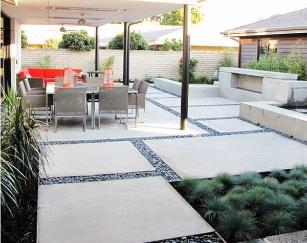 Impressive Contemporary Patio Ideas Best 25 Pebble Patio Ideas On Pinterest Diy Pebble Paths
