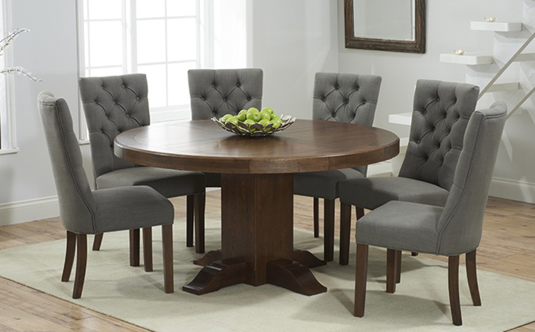 Impressive Dark Wood Dining Room Table And Chairs Astounding Dark Wood Dining Tables And Chairs 53 On Dining Room