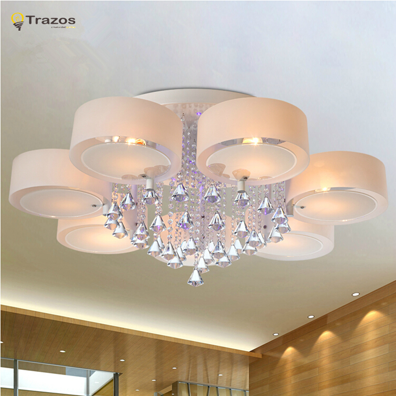 Impressive Fashionable Ceiling Lights Crystal Led Ceiling Lights Modern Fashionable Design Dining Room