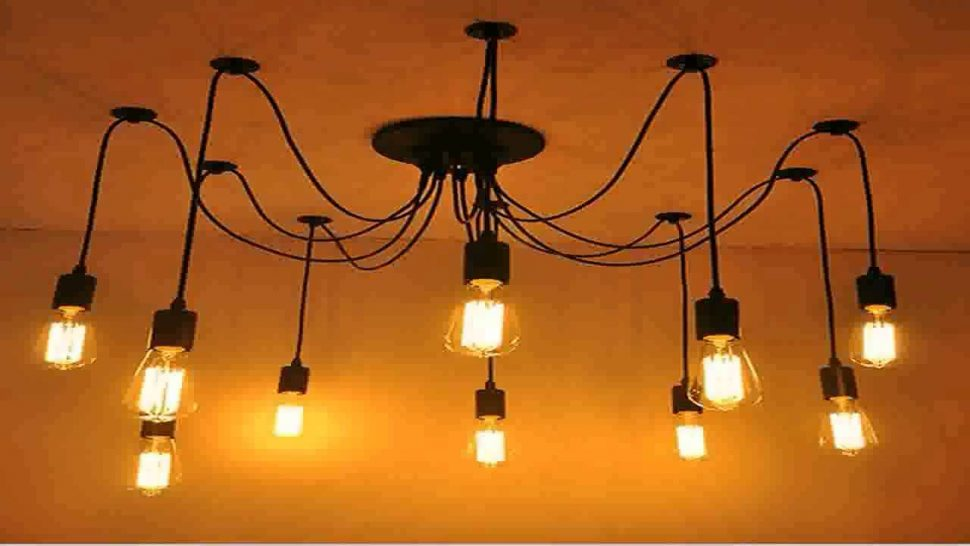 Impressive Industrial Chandelier Lighting Chandelier Industrial Chandelier Filament Bulb Chandelier