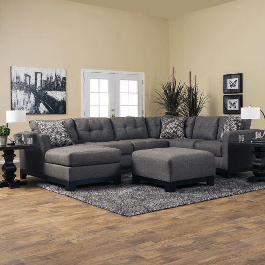 Impressive Living Room Sectionals Romero Living Room Sectional Jeromes Furniture