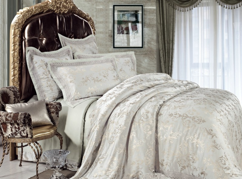 Impressive Luxury Bedding Sets Piece Jacquard Luxury Bedding Set Illusory Myth Sets083