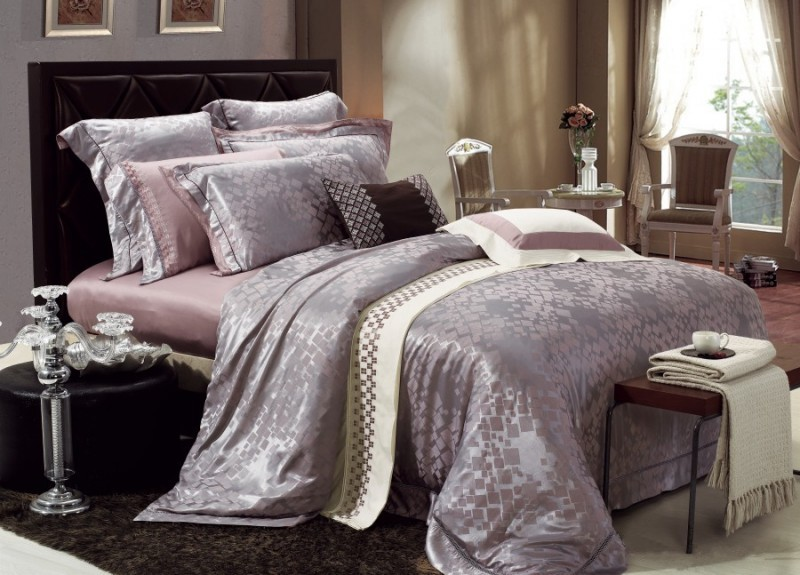 Impressive Luxury Bedding Sets Piece Jacquard Luxury Bedding Set Sets082