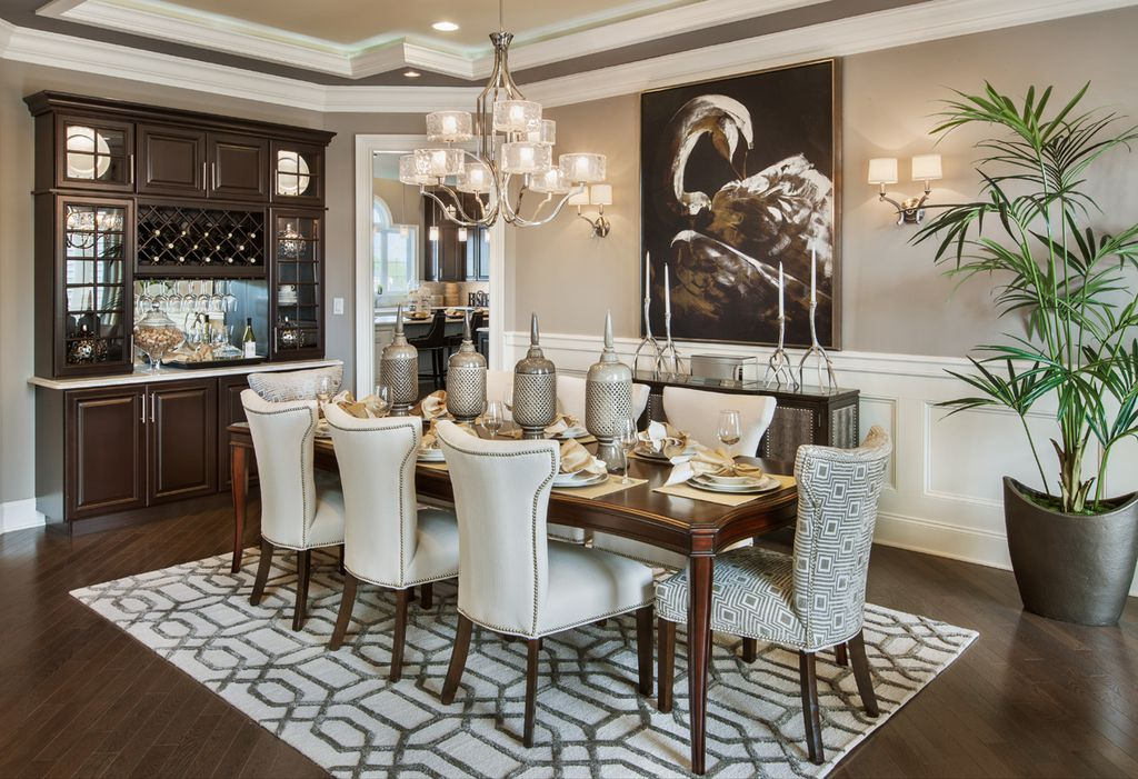 Impressive Luxury Dining Room Luxury Dining Room Design Ideas Pictures Zillow Digs Zillow