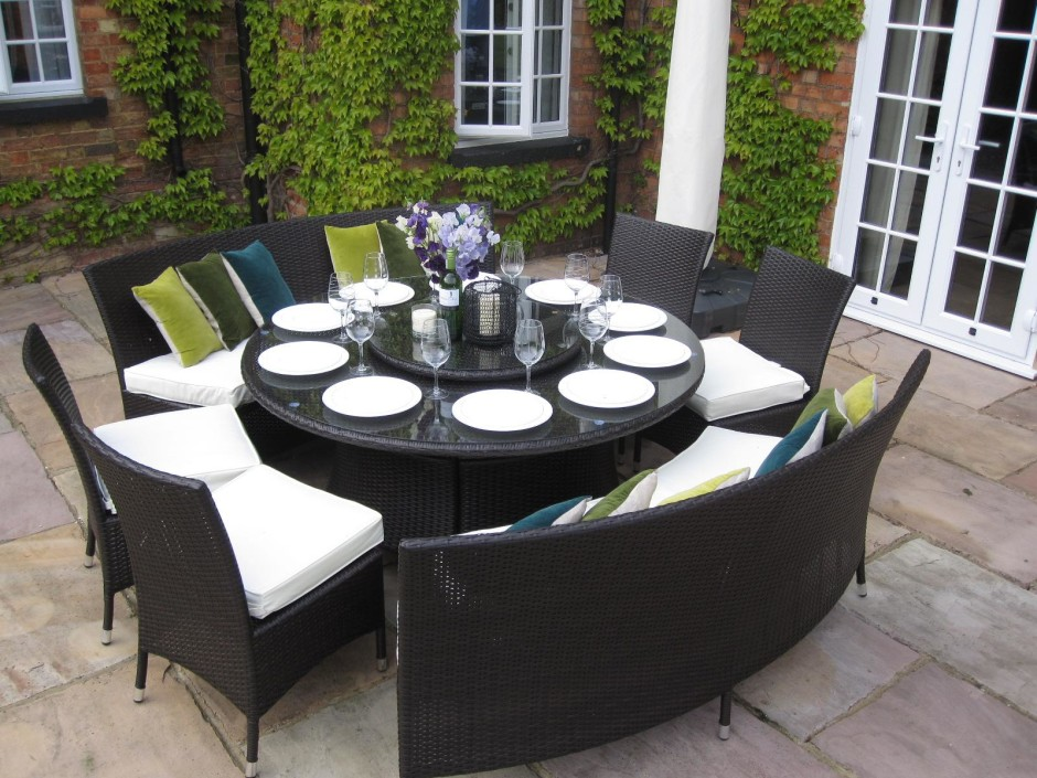Impressive Luxury Outdoor Dining Table Wonderful Luxury Outdoor Dining Sets Exquisite Ideas Round Outdoor