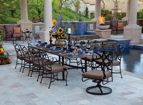 Impressive Luxury Outdoor Dining Table Wonderful Luxury Outdoor Dining Sets Outdoor Furniture Tips Trends