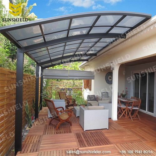Impressive Luxury Patio Covers Polycarboante Patio Cover Aluminum Patio Awning Sunshield