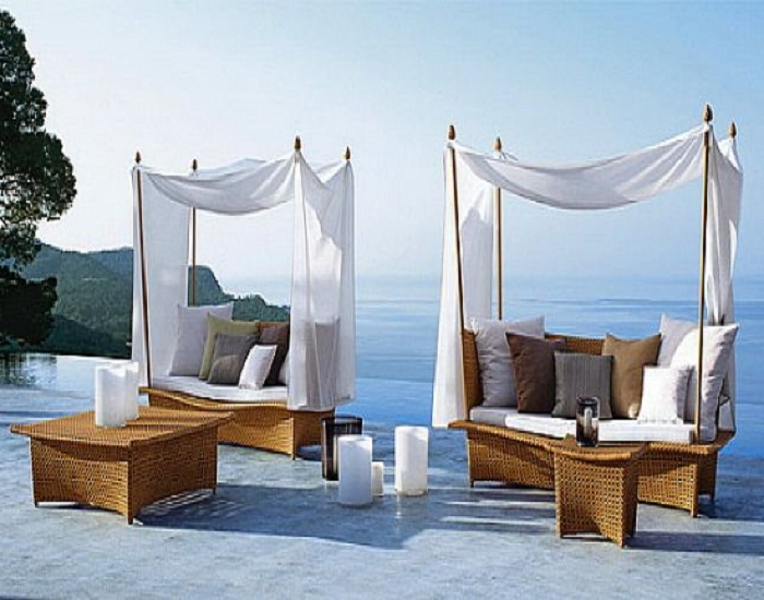 Impressive Luxury Terrace Furniture Get Eclectic With New Inspirations For Luxury Garden Furniture