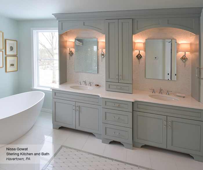 Impressive Master Bathroom Furniture Master Bath Cabinets Omega Cabinetry