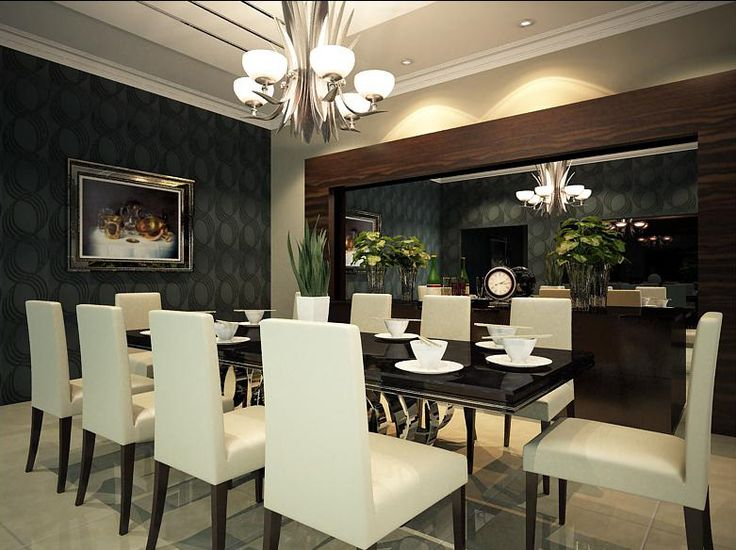 Impressive Modern Dining Room Excellent Wall Decor Ideas 130