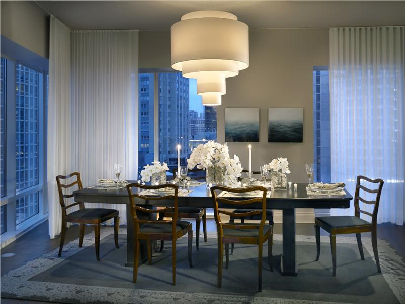 Impressive Modern Elegant Dining Room Contemporary Modern Retro Elegant Dining Room Photos