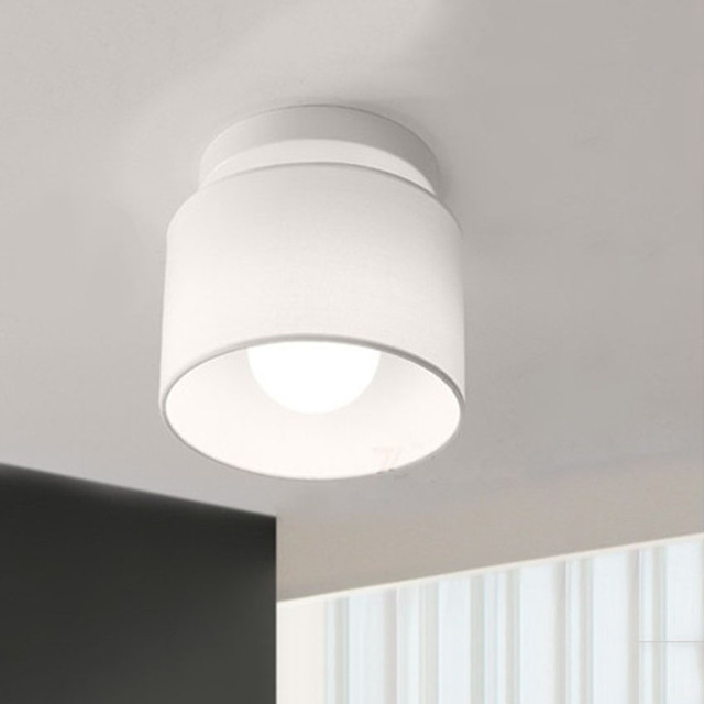 Impressive Modern Led Lighting Modern Led Ceiling Lights Home Lighting Dia 18cm Cloth Lamp Shade