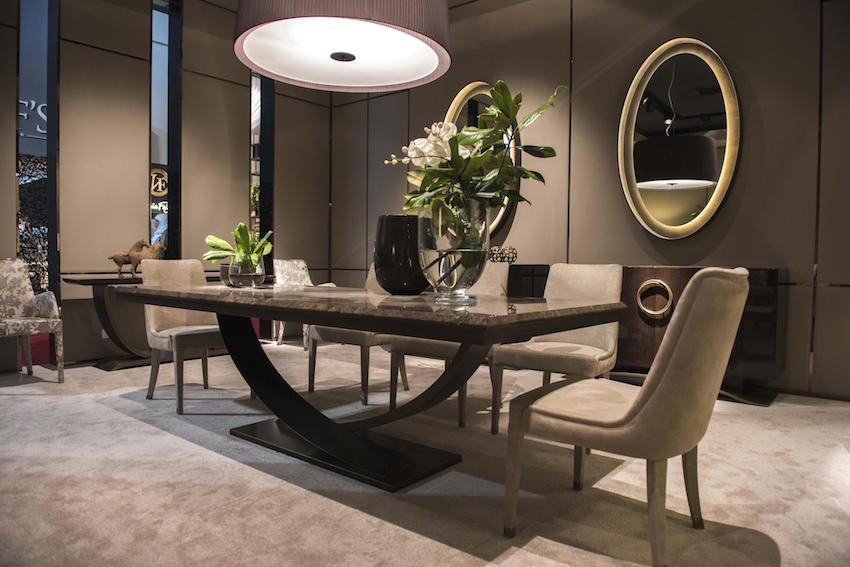 Impressive Modern Luxury Dining Table Luxury Dining Room Furniture Designer Brands Luxdeco Stylish Igf Usa