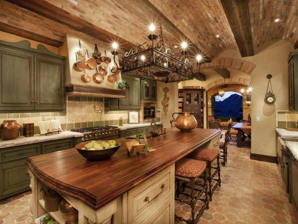 Impressive Rustic Kitchen Furniture Rustic Kitchen Cabinets Pictures Ideas Tips From Hgtv Hgtv & Rustic Kitchen Furniture | ModernFurniture Collection