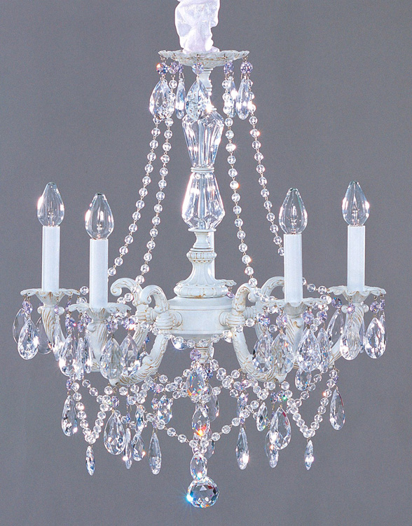 Impressive Shabby Chic Chandelier Lighting Chandeliers Shab Chic Style Crystal Chandelier