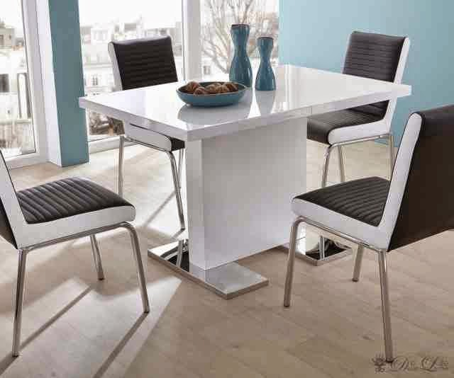 Impressive Small Contemporary Dining Table Small Contemporary Dining Table Prepossessing Idea Small Modern