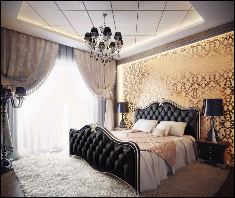 Impressive Small Luxury Bedroom Small Luxury Bedroom Designs Beige Drum Shade Bed Lamp On Small
