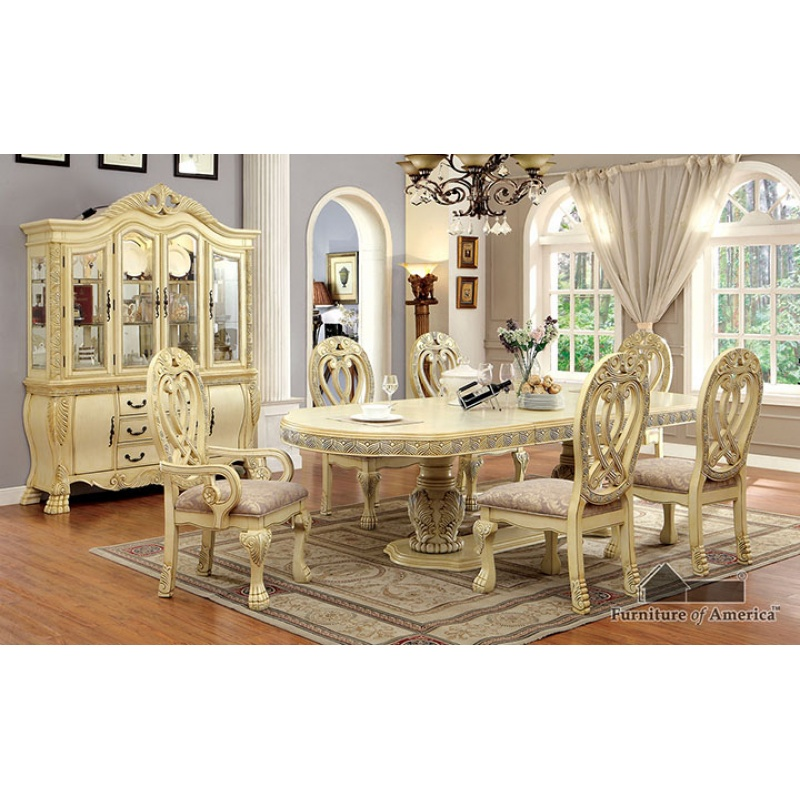 Impressive White Dining Room Sets Formal Unusual Design White Formal Dining Room Sets Von Furniture On Home