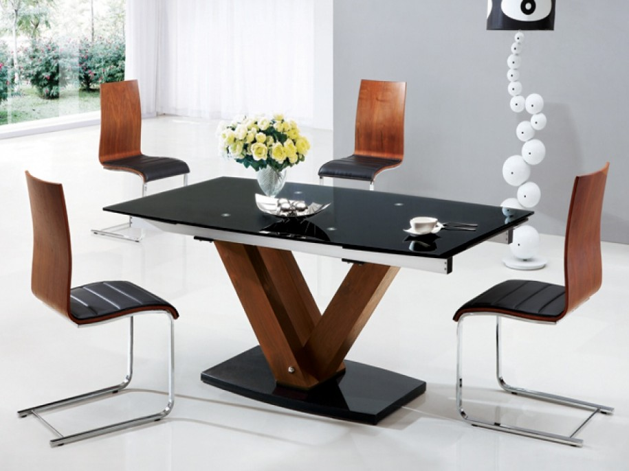 Wooden Glass Dining Table Designs Modernfurniture Collection