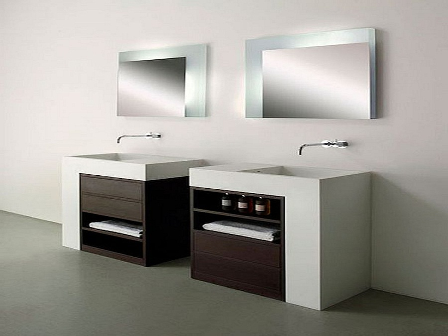 Incredible Bathroom Sink Cabinets Modern Contemporary Bathroom Sinks And Cabinet With Storage Unit