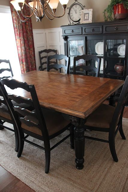 Incredible Black Dining Room Table And Chairs Best 25 Oak Dining Room Set Ideas On Pinterest Refurbished