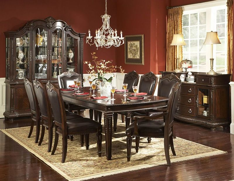 Incredible Black Formal Dining Room Table Formal Dining Room Set Createfullcircle