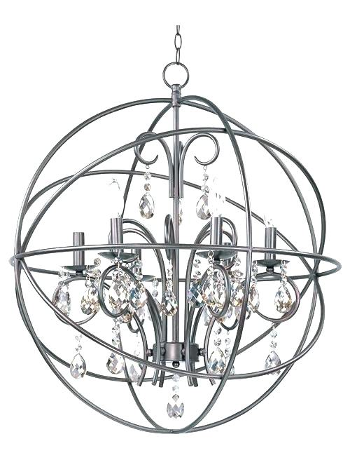 Incredible Black Sphere Chandelier Bronze Orb Chandelier Edrexco