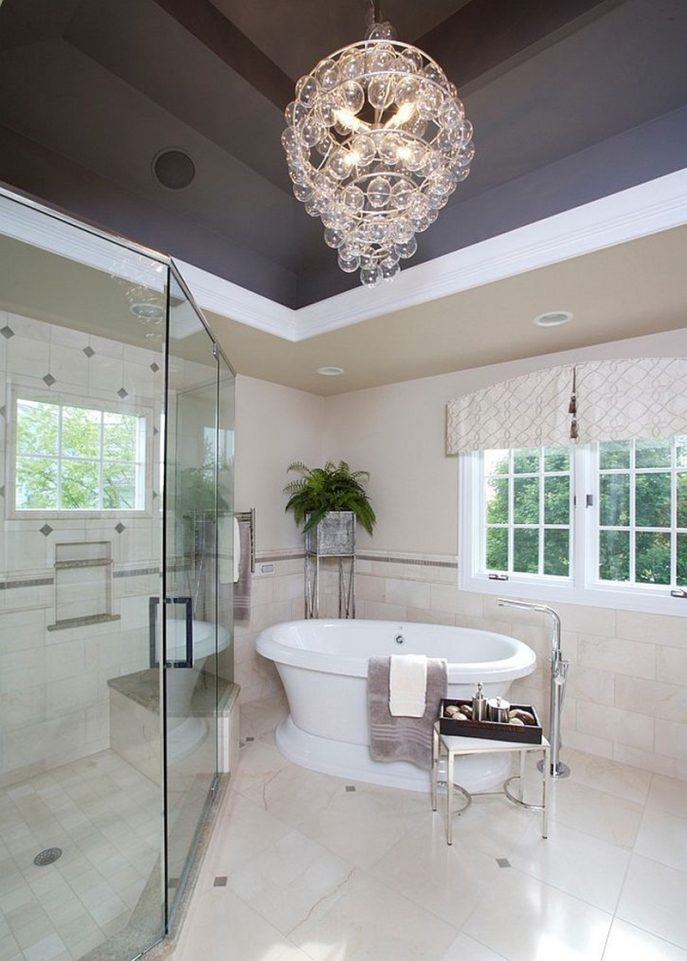 Incredible Contemporary Bathroom Chandeliers Chandeliers Design Wonderful Contemporary Bathroom Chandeliers