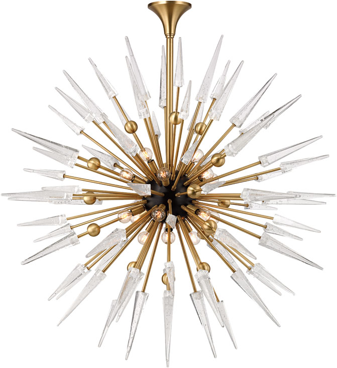 Incredible Contemporary Brass Chandelier Hudson Valley 9048 Agb Sparta Contemporary Aged Brass Chandelier