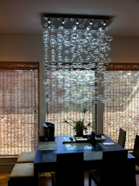 Incredible Contemporary Dining Chandeliers Chandelier Installation Quatro Team Modern Dining Room