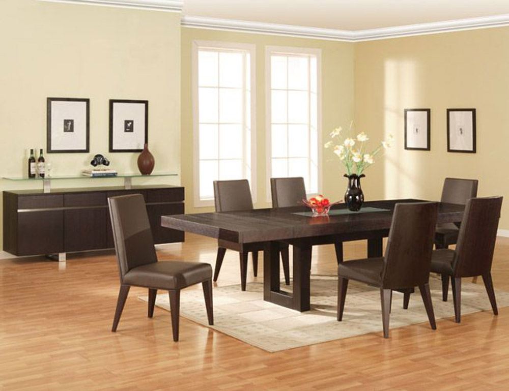 Incredible Contemporary Dining Room Sets Italian Modern Wood Dining Room Table Classy Design Modern Style Modern